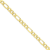 10k Light Figaro Chain