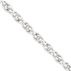 Sterling Silver Hollow Cable Chain