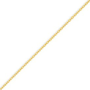 Picture of 14K Gold 1.6mm Cable Chain