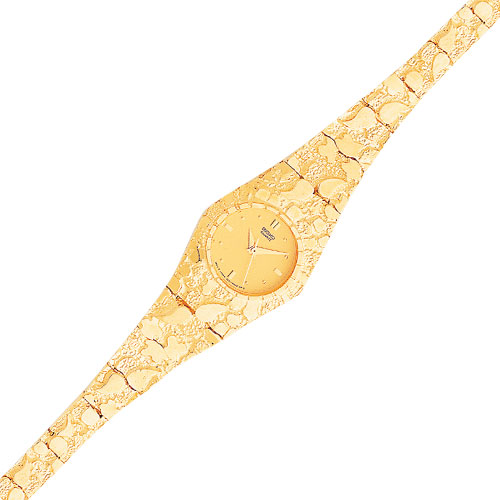 10k gold watches for men best watchess 2017 10k gold yellow dial circular face nugget watch