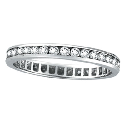 set in diamond platinum band wedding women channel rings s princess bands shadow ring me eternity