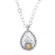 Alesandro Menegati 14K Gold & Sterling Silver Necklace