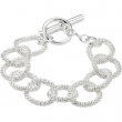 Sterling Silver 35.00 INCH STERLING SILVER MESH LINK NECKLACE Ster Mech Link Necklace