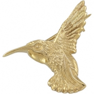Picture of 14K Yellow Gold Hummingbird Brooch