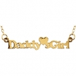 NONE 18X27.35 mm NONE Daddys Little Girl Necklace