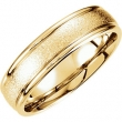 14kt Yellow Band 10.00 06.00 MM Complete No Setting Polished FANCY CARVED BAND