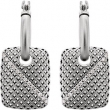 EARRING NONE ROUND 01.00 MM Diamond NONE Mounting 14kt White Polished 1/4 CTW DIAMOND EARRINGS