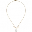 14kt Yellow NECKLACE Complete with Stone 16.00 INCH VARIOUS VARIOUS PEARL Polished FRESHWATER CULTURED PRL NCK