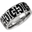 Cobalt 10.00 09.00 MM POLISHED CASTED BAND