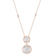 Sterling Silver ROSE GOLD PLATED 17.00 INCH NONE