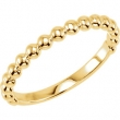 14kt Yellow Stackable Ring