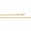 14kt Yellow 24.00 INCH Polished WHEAT CHAIN