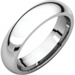 14kt White 02.50 mm Comfort Fit Band