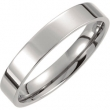 Titanium SIZE 06.00 04.00 MM POLISHED FLAT BAND