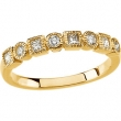 14KY 3/8 CT TW P BRIDAL ANNIVERSARY BAND