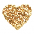 14KY 17.00X16.00 MM P HEART SHAPED PENDANT