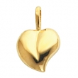 14KY 16.00X11.00 MM P HEART SHAPED PENDANT