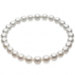 White Oval Graduated 13-16 mm FINE Strand PASPALEY SOUTH SEA