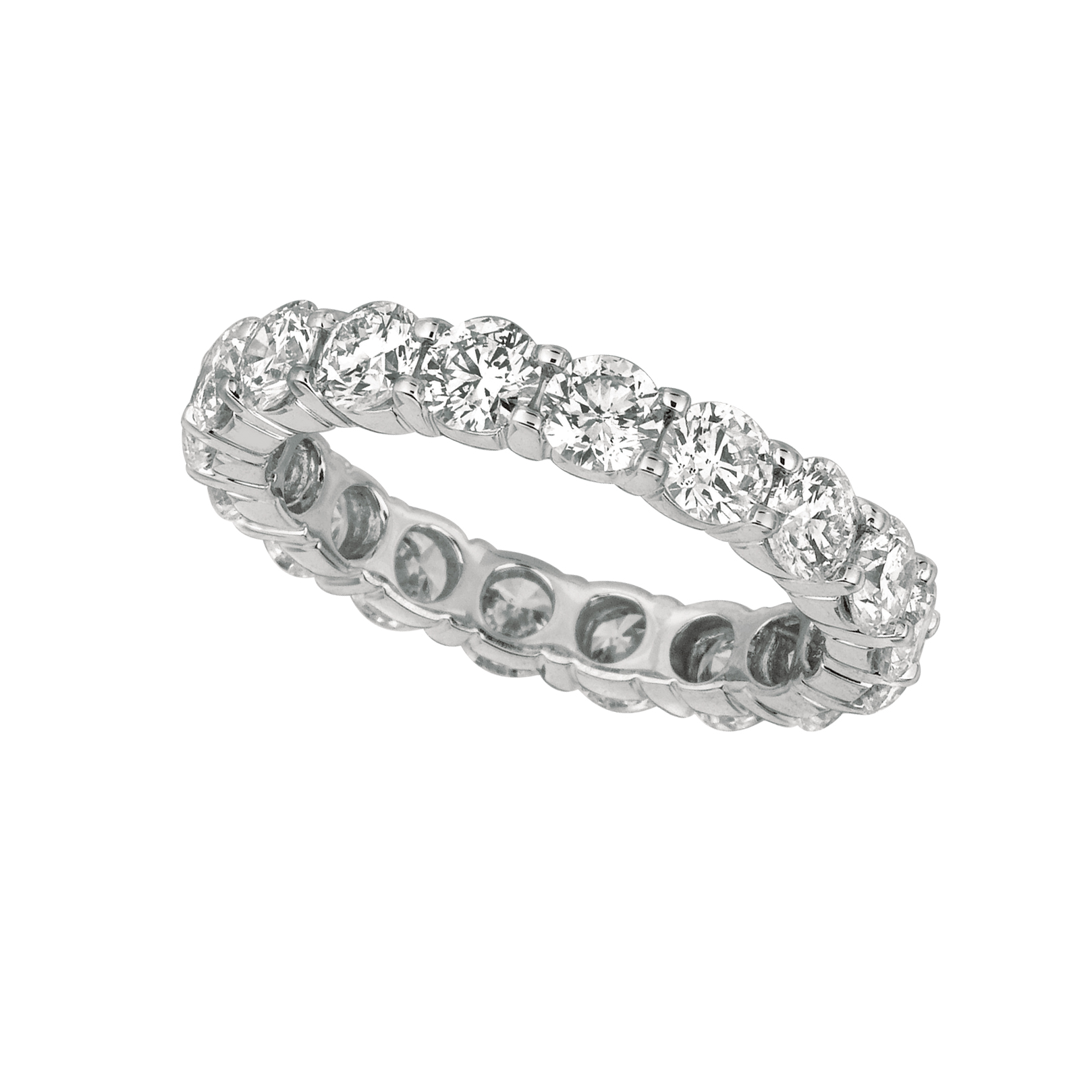 diamond bands white overnight sku platinum eternity band mitchell set graff rings products castle stores