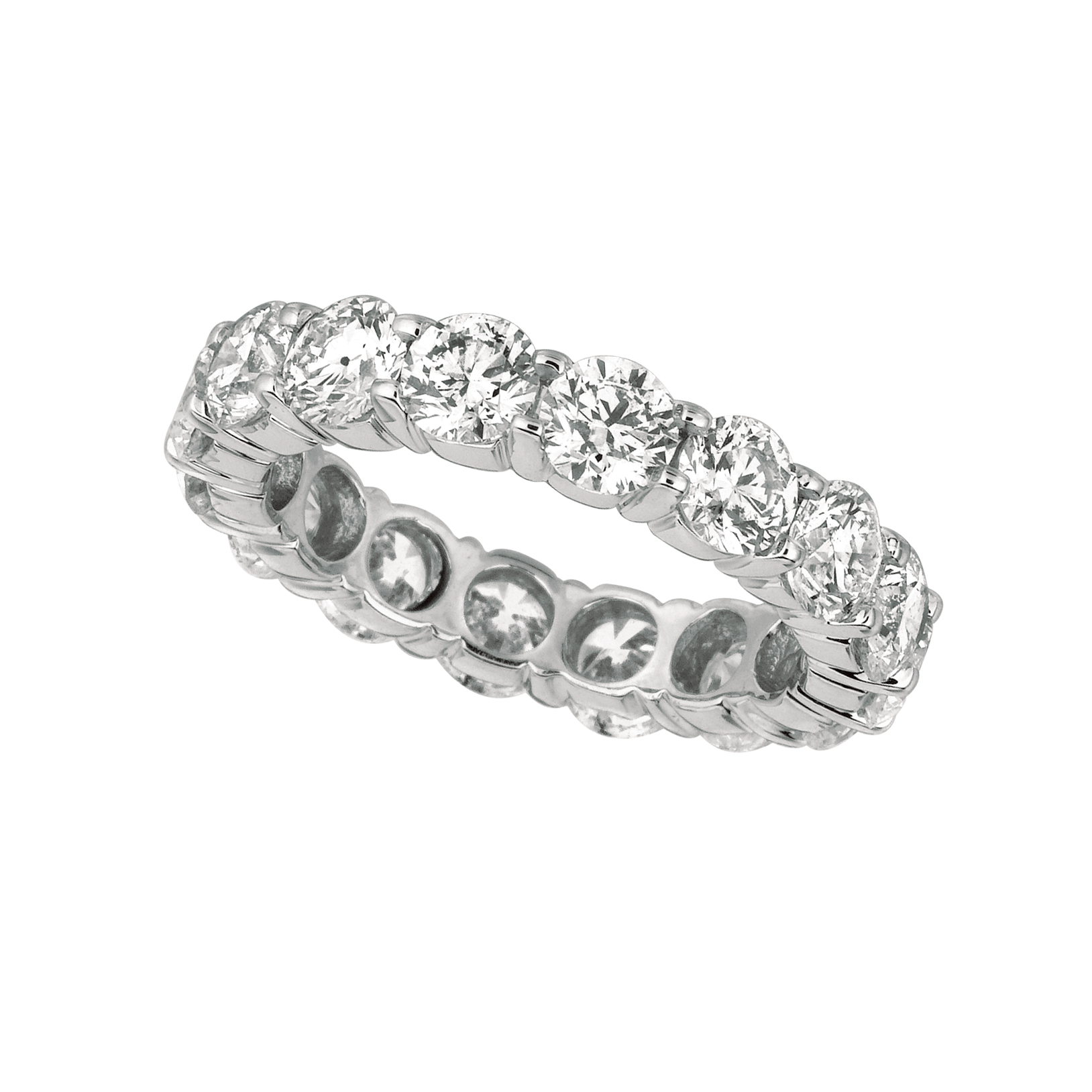 nuha cushion cut nuhatif jewelers band products diamond platinum eternity bands