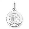 Sterling Silver Confirmation Medal