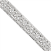 Sterling Silver Fancy CZ Bracelet