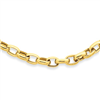 14k 18in 4.5mm Polished Fancy Link Necklace chain
