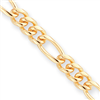 20in Gold-plated 7mm Figaro Necklace chain