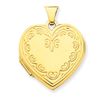 14k Heart Locket
