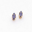 14k 5x2.5mm Marquise Tanzanite earring