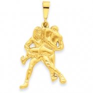 Picture of 14k Wrestling Charm