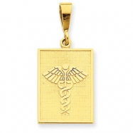 Picture of 14k Caduceus Pendant