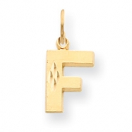 Picture of 14k Initial F Charm