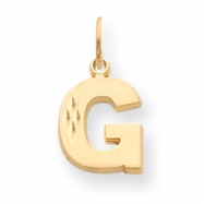 Picture of 14k Initial G Charm
