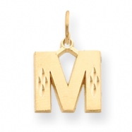 Picture of 14k Initial M Charm
