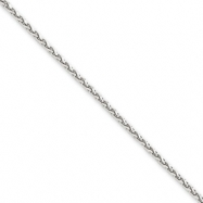Picture of 14k White Gold 1.8mm Solid D/C Spiga Chain