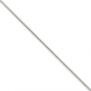 Picture of 14k White Gold 0.70mm Box Chain