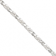 Picture of Sterling Silver 5.5mm Twisted Box Link Chain