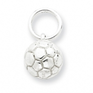 Picture of Sterling Silver Soccer Ball Charm