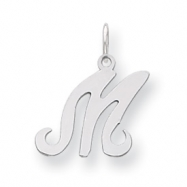 Picture of Sterling Silver Stamped Initial M