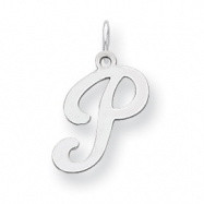 Picture of Sterling Silver Stamped Initial P