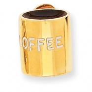 Picture of 14k Enameled Coffee Cup Pendant
