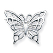 Sterling Silver Butterfly Pin