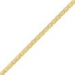 14K Gold 5.1mm Semi-Solid Anchor Chain