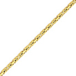 14K Gold  4mm Byzantine Chain