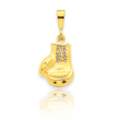 14K Gold Boxing Glove Charm
