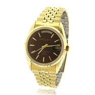 Picture of Men's Charles Hubert Gold-Plated Burgundy Dial Classic Watch