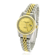 Picture of Ladies' Charles Hubert Gold-Tone Dial with Date Premium Watch
