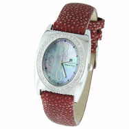 Picture of Ladies' Charles Hubert Premium Collection White Mother of Pearl Dial Diamond Watch