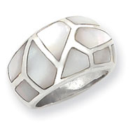 Picture of Sterling Silver Mother Of Pearl Ring